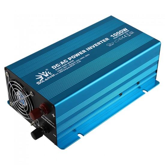 1000 Watt 24 Volt Tam Sinüs İnvertör - Solarvertech