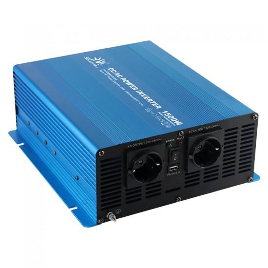1500 Watt 12 Volt Tam Sinüs İnvertör - Solarvertech