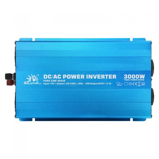 3000 Watt 12 Volt Tam Sinüs İnvertör - Solarvertech