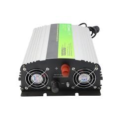 1000 Watt 12 Volt Tam Sinüs İnvertör AC 220V Şarjlı - Solarvertech