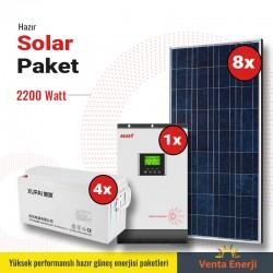 Hazır Solar Paket 2200w