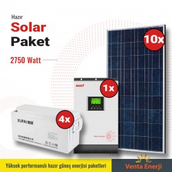 Hazır Solar Paket 2750w