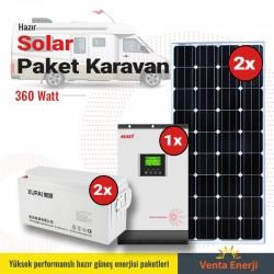 Hazır Solar Paket 400w A- Karavan için