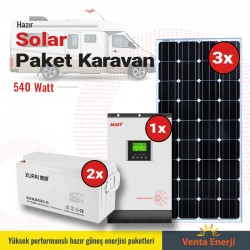 Hazır Solar Paket 600w A - Karavan için