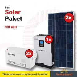 Hazır Solar Paket 550w