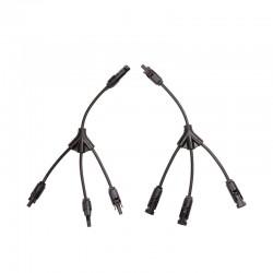 3'lü Y Tipi Paralelleme Konnektörü Kablolu