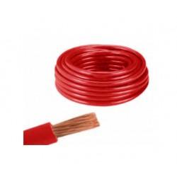 Akü Bağlantı Kaynak Kablosu 25mm2 Kırmızı